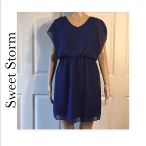Sweet Storm Dress Sz L